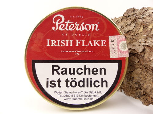 Peterson Pfeifentabak Irish Flake 50g