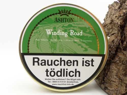 Ashton Winding Road Pfeifentabak 50g