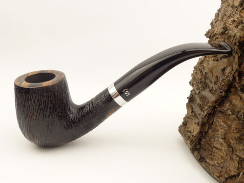 Stanwell Relief Pfeife brushed 246