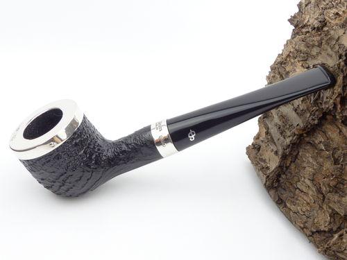 Peterson Pfeife Silver Cap Sand 606
