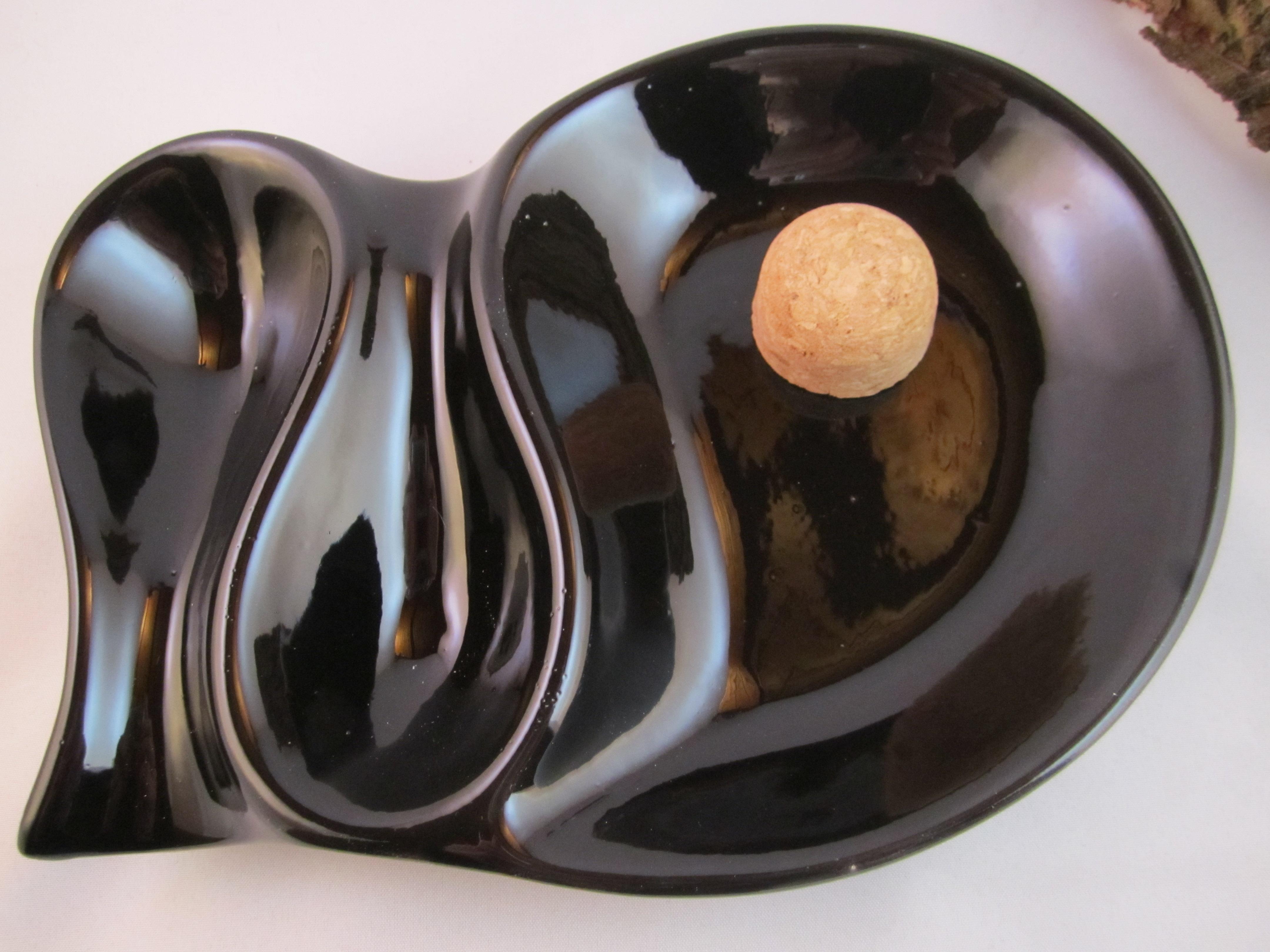 pfeifenaschenbecher schwarz ablage f r 2 pfeifen the pipe store. Black Bedroom Furniture Sets. Home Design Ideas