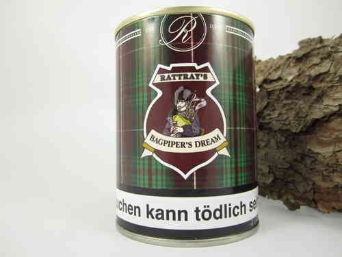 Rattray's Pfeifentabak Bagpipers Dream 100g