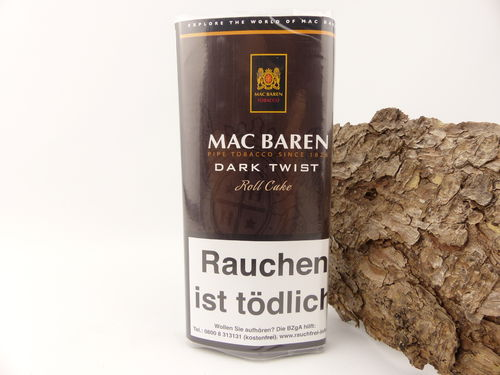 Mac Baren Pfeifentabak Dark Twist 50g