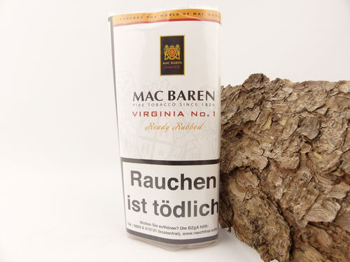 Mac Baren Pfeifentabak Virginia No.1 50g