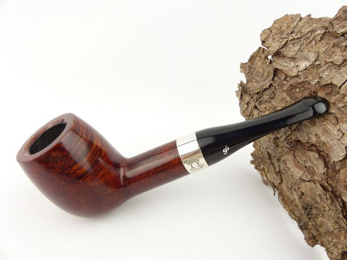 Peterson House Pipe Billiard terracotta