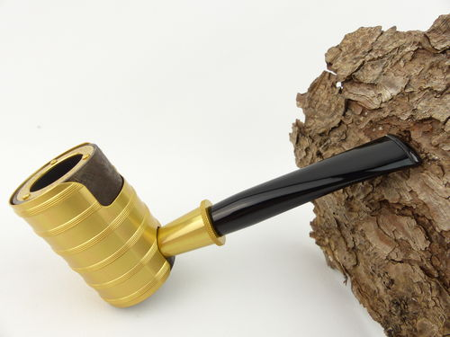 Tsuge Pfeife Thunderstorm gold Filter