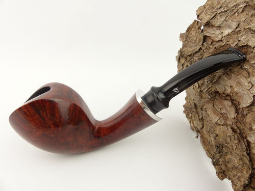 Stanwell Blowfish Pfeife 230 rotbraun