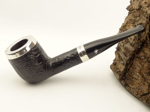 Peterson Pfeife Silver Cap Sand 106